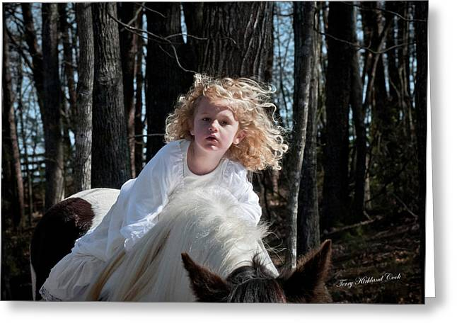 Innocence  Greeting Card by Terry Kirkland Cook