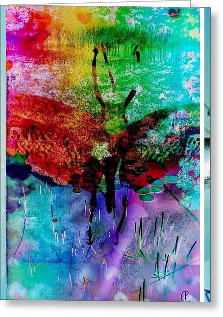 Insects And Incense Greeting Card
