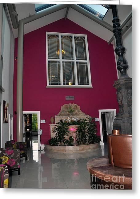 Inside Entry Lyrath Estate Hotel Greeting Card