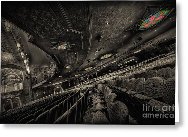 Inside Fox Theater Greeting Card