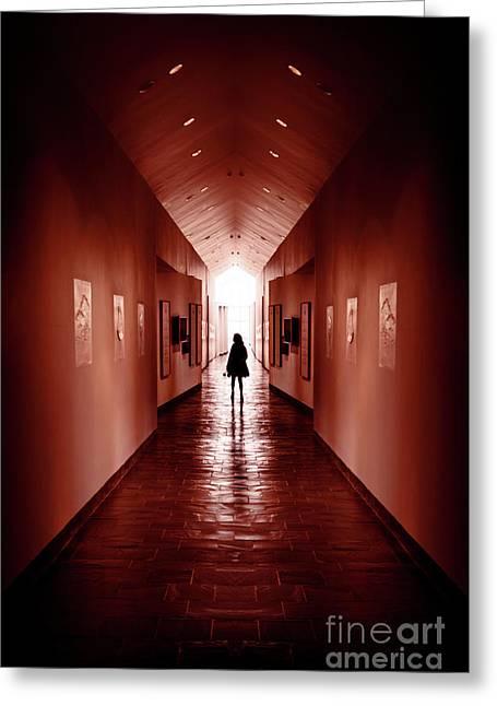 Inside My Walls Greeting Card by Evelina Kremsdorf