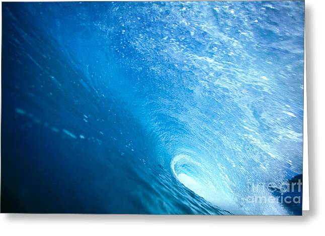Inside The Tube Greeting Card by Vince Cavataio - Printscapes