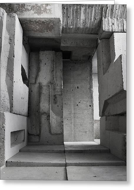 Inside The Walls 2 Greeting Card by David Umemoto