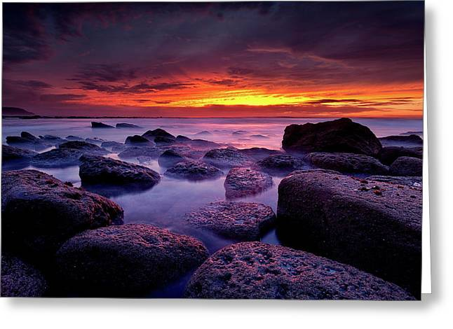 Greeting Card featuring the photograph Inspiration by Jorge Maia