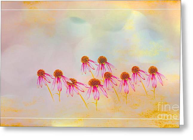 Inspiration Of Spring Greeting Card by Beverly Guilliams