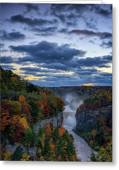 Inspiration Point Greeting Card by Rick Berk