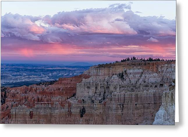 Greeting Card featuring the photograph Inspiration Point Sunset by Patricia Davidson