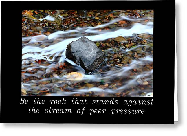 Inspirational-be The Rock Greeting Card