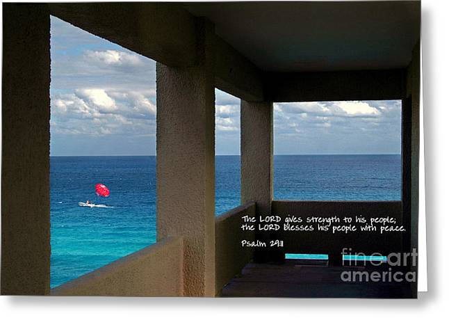Inspirational - Picture Windows Greeting Card