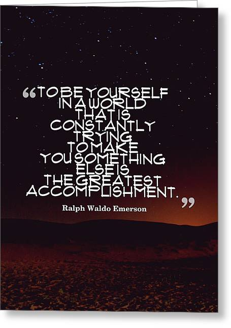 Inspirational Quotes - Motivational - 130 Greeting Card by Celestial Images