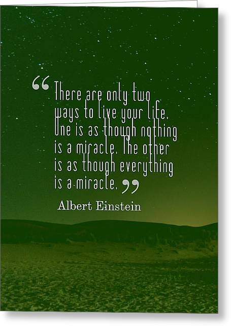 Inspirational Quotes - Motivational - 131 Greeting Card by Celestial Images