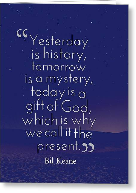 Inspirational Quotes - Motivational - 133 Greeting Card by Celestial Images