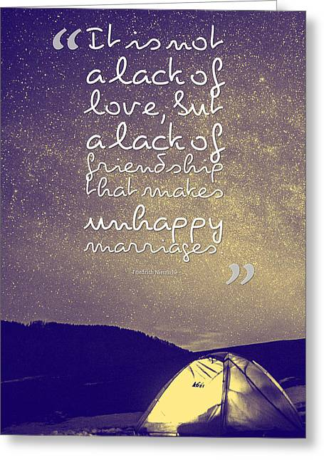 Inspirational Quotes - Motivational - 138 Greeting Card by Celestial Images