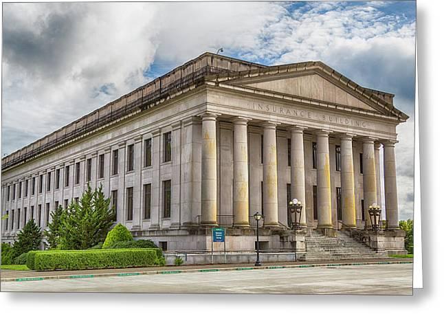 Insurance Building - Olympia, Washington Greeting Card by Stephen Stookey
