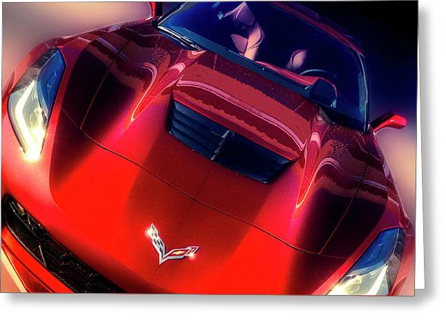 Intake Greeting Card by Larry Helms