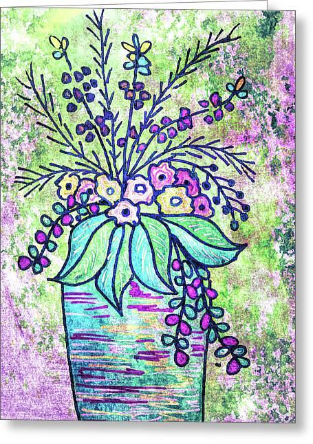Intense Colors Greeting Card