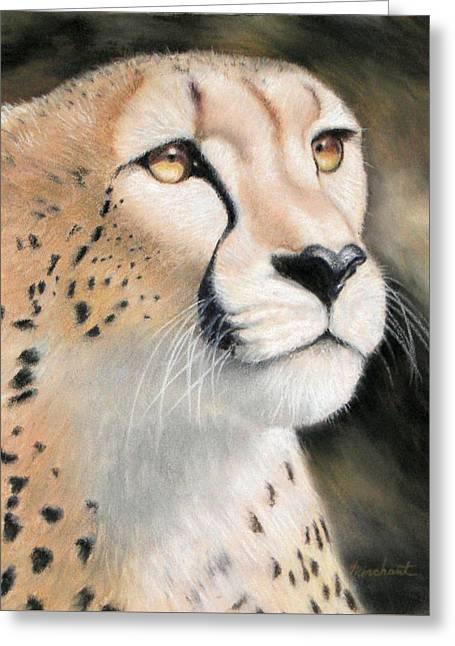Intensity - Cheetah Greeting Card