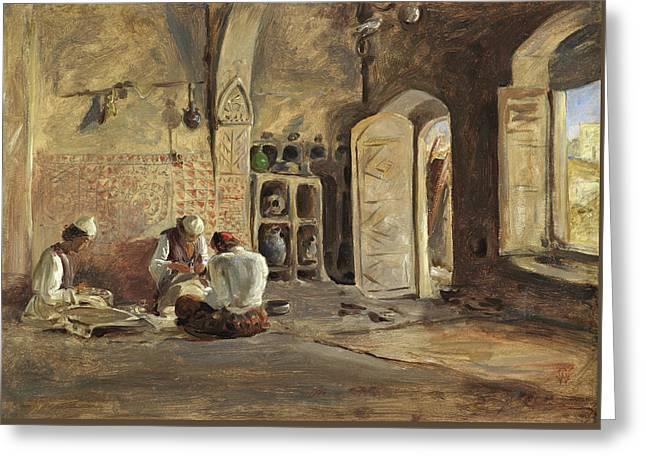 Interior, Algiers Greeting Card