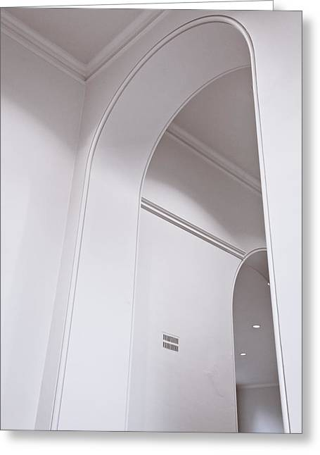 Interior Arch Greeting Card