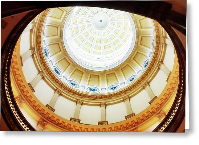 Interior Denver Capitol Greeting Card