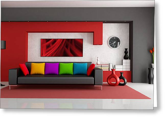 Interior Design Company Dubai Greeting Card