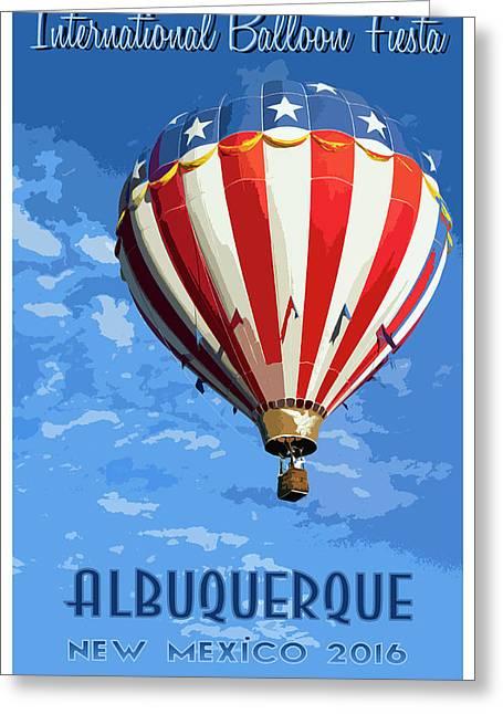 International Balloon Fiesta Greeting Card