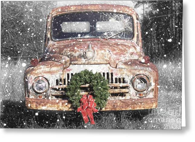 International Christmas Snow Greeting Card by Benanne Stiens