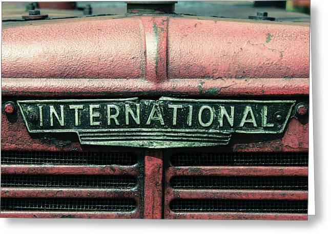 International Grille  Greeting Card by Rob Hawkins