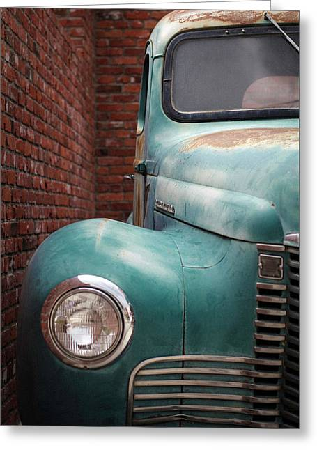 Greeting Card featuring the photograph International Truck 1 by Heidi Hermes