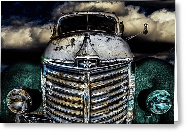Greeting Card featuring the photograph International Truck 6 by Michael Arend