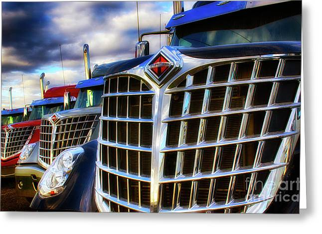 International Trucks 1 Greeting Card