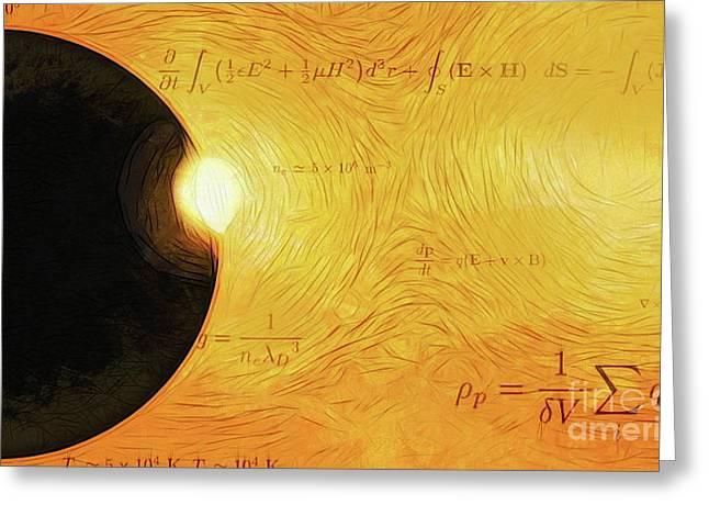 Interplanetary Calculations Greeting Card