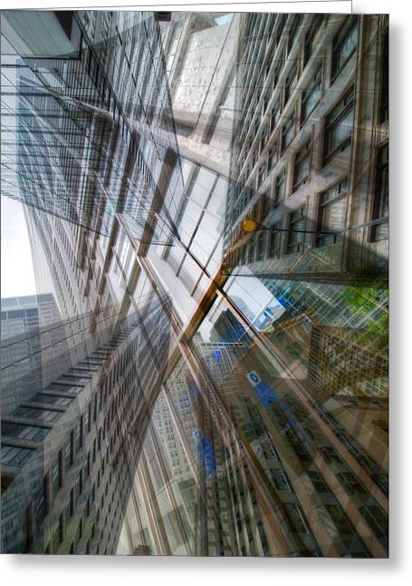 Intersection 10 Greeting Card by Kevin Eatinger