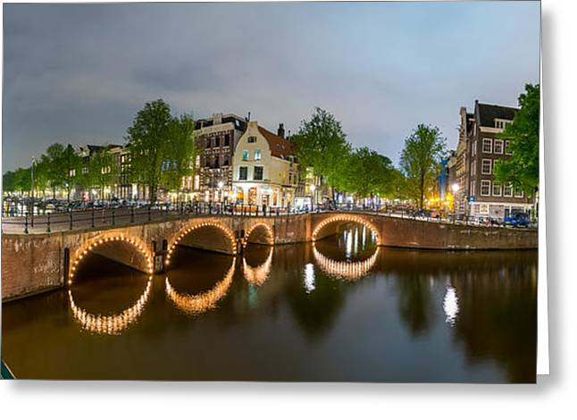 Intersection Of Keizersgracht Greeting Card