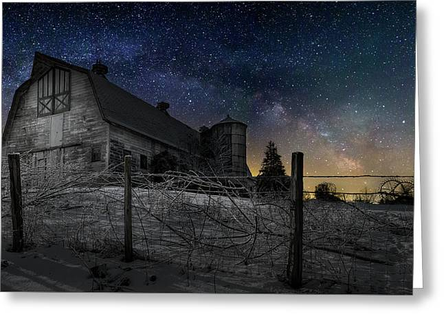 Greeting Card featuring the photograph Interstellar Farm by Bill Wakeley
