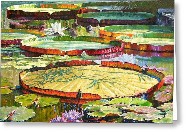 Interwoven Beauty Greeting Card by John Lautermilch