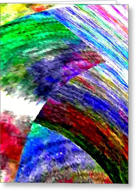 Interwoven Greeting Cards - Interwoven Greeting Card by Will Borden