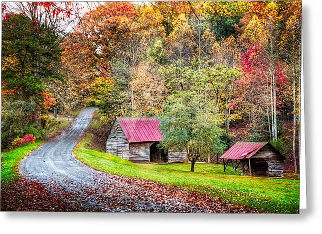 Into Autumn Greeting Card