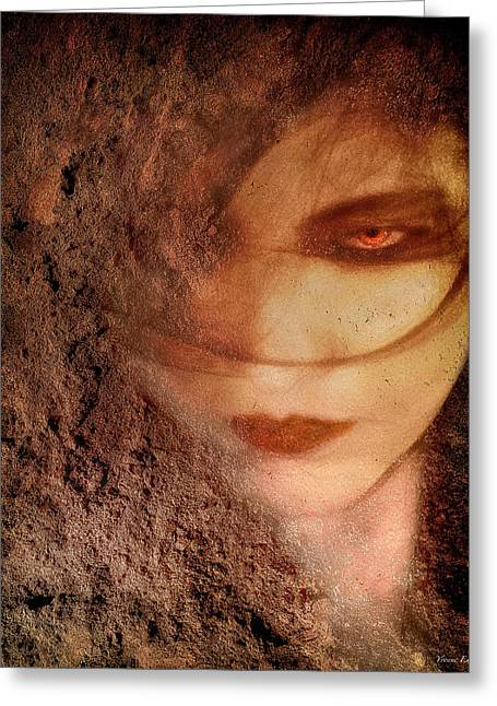 Into Dust Greeting Card