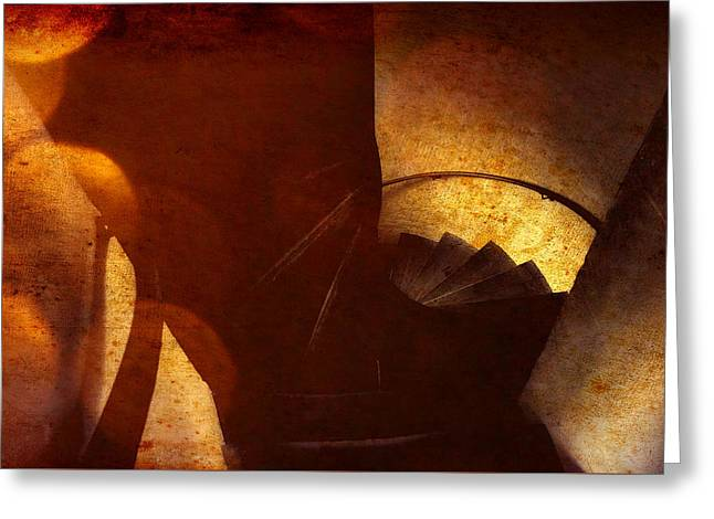 Into The Dungeon Greeting Card