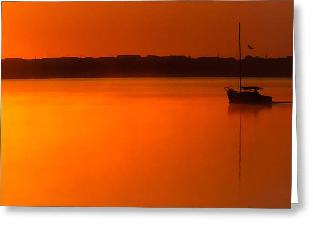 Into The Light Greeting Card by Karen Wiles