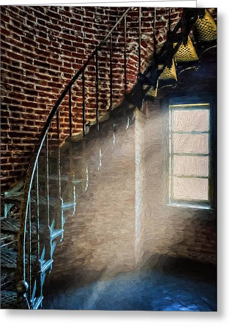 Into The Light Greeting Card by Ken Smith