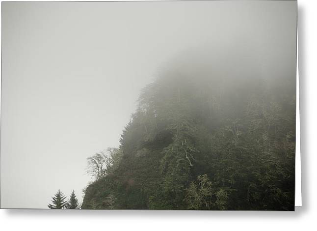 Into The Mist Greeting Card by Anthony Doudt