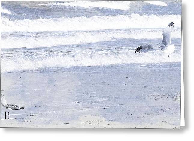 Into The Waves Greeting Card by JAMART Photography