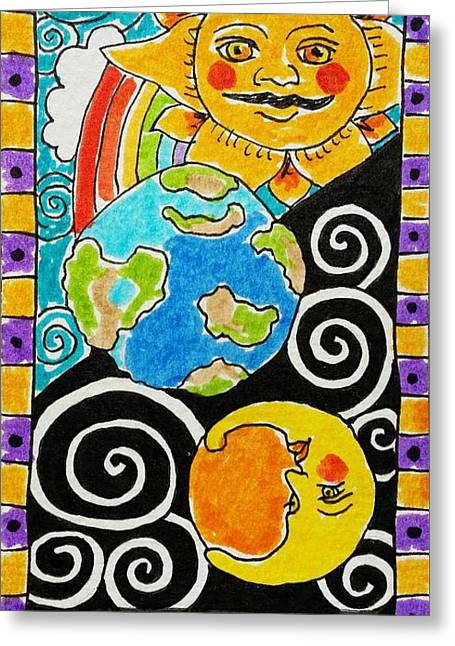 Intuitive Catalyst Card - World Greeting Card