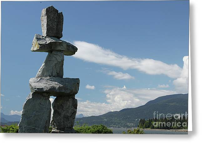 Inuksuk Greeting Card