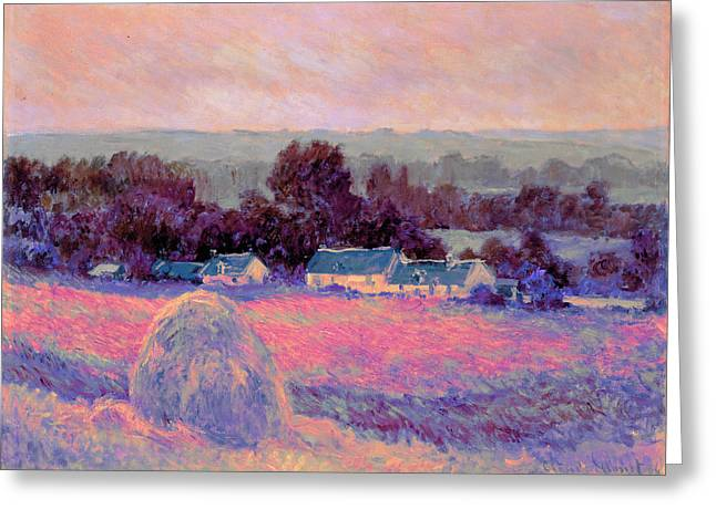 Inv Blend 10 Monet Greeting Card by David Bridburg