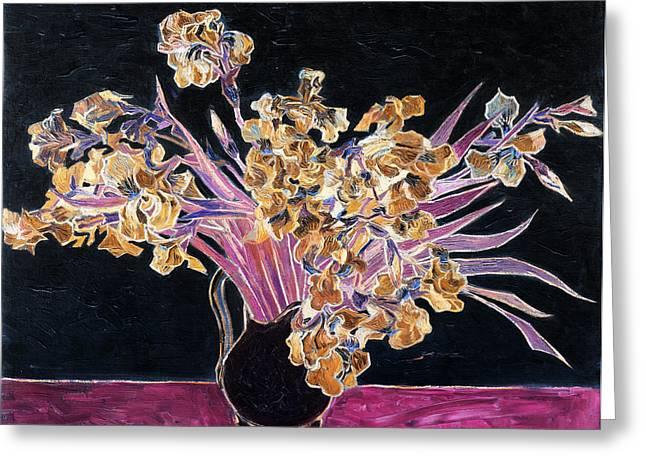 Inv Blend 3 Van Gogh Greeting Card