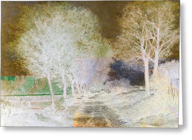 Inv Blend 4 Sisley Greeting Card