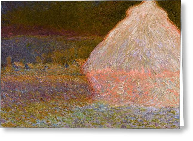 Inv Blend 5 Monet Greeting Card
